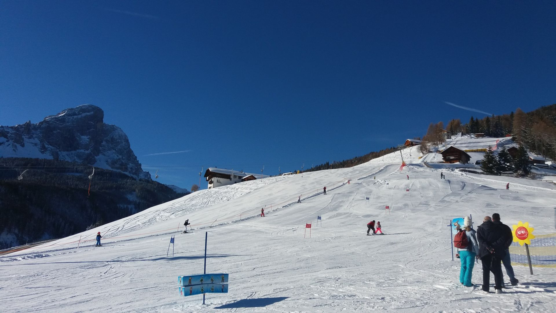 Image: Skiing in Antermoia